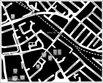 mapping city moulds